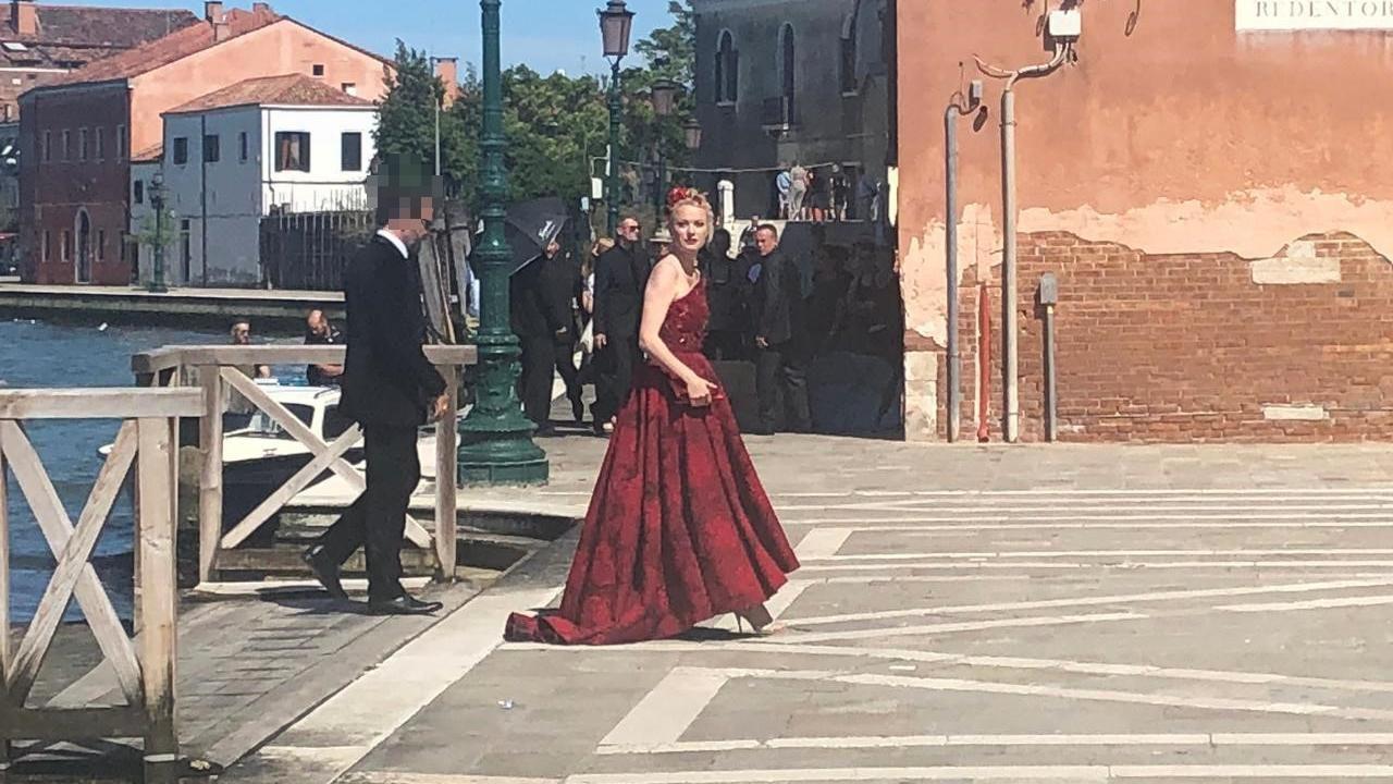Barbara Meier Star Auflauf Bei Traumhochzeit In Venedig