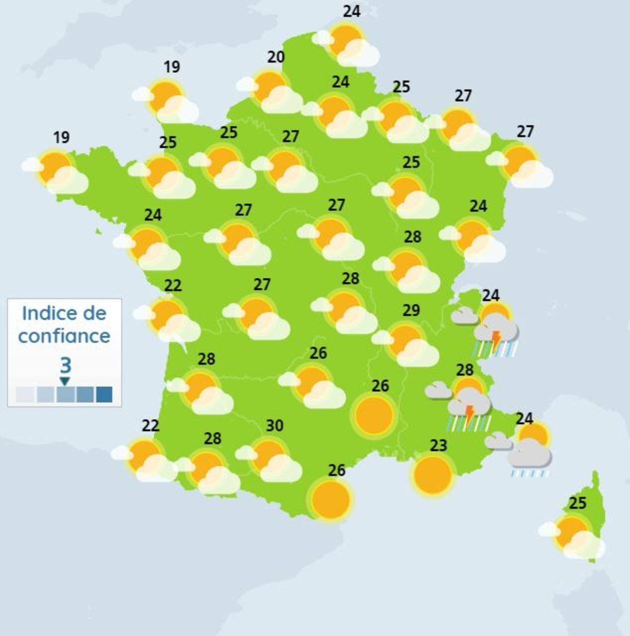 Meteo Bientot Une Vraie Chaleur D Ete Sur Tout Le Pays Le Parisien