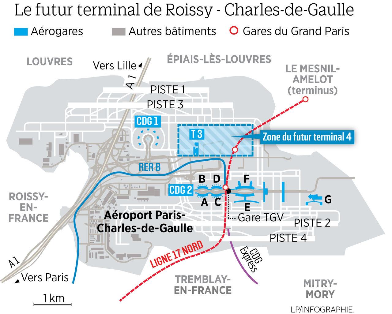 terminal aeroport charles de gaulle