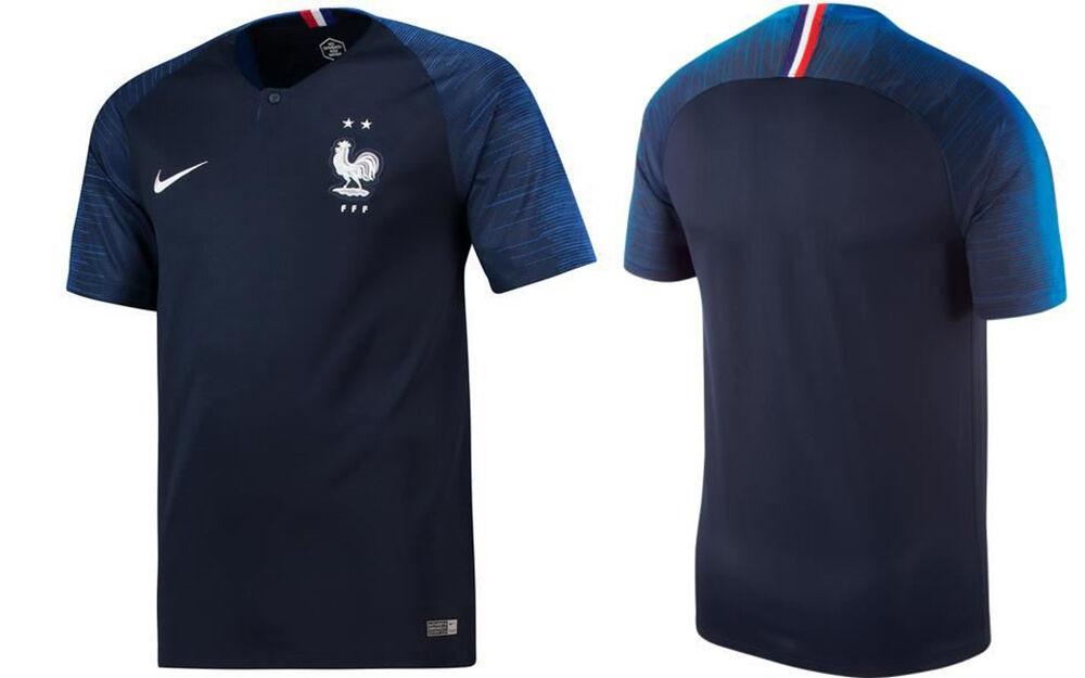 Taille M Maillot entrainement équipe de France 2019-2 étoiles