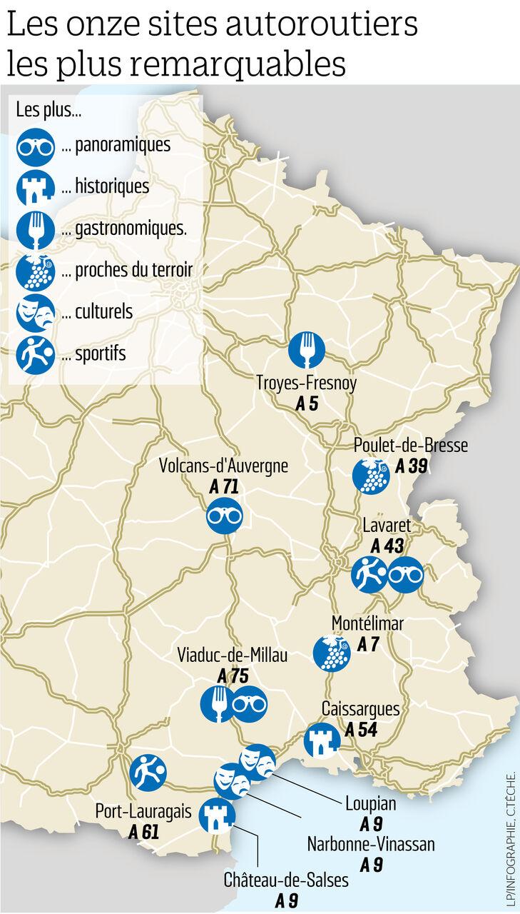 Ces Aires D Autoroute Remarquables Ou La Pause S Impose Le Parisien