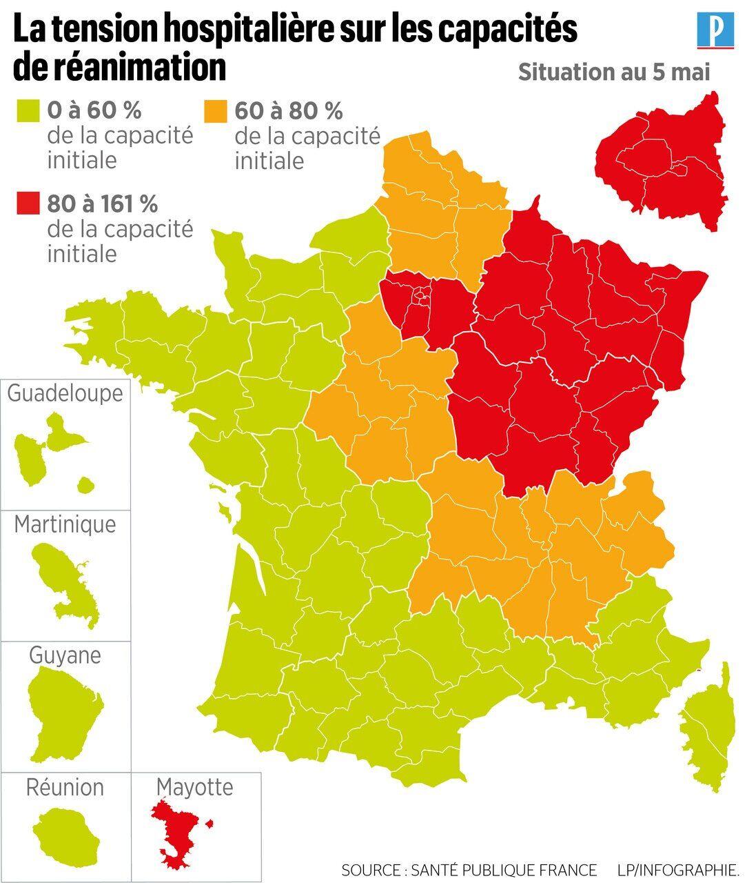 Coronavirus En France 330 Nouveaux Deces La Region Hauts De France Passe En Orange Le Parisien