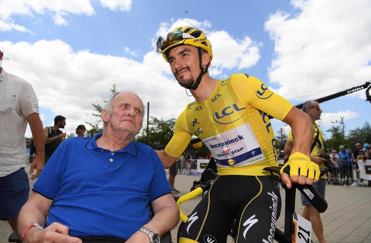 Cyclisme Julian Alaphilippe Pleure La Disparition De Son Pere Le Parisien