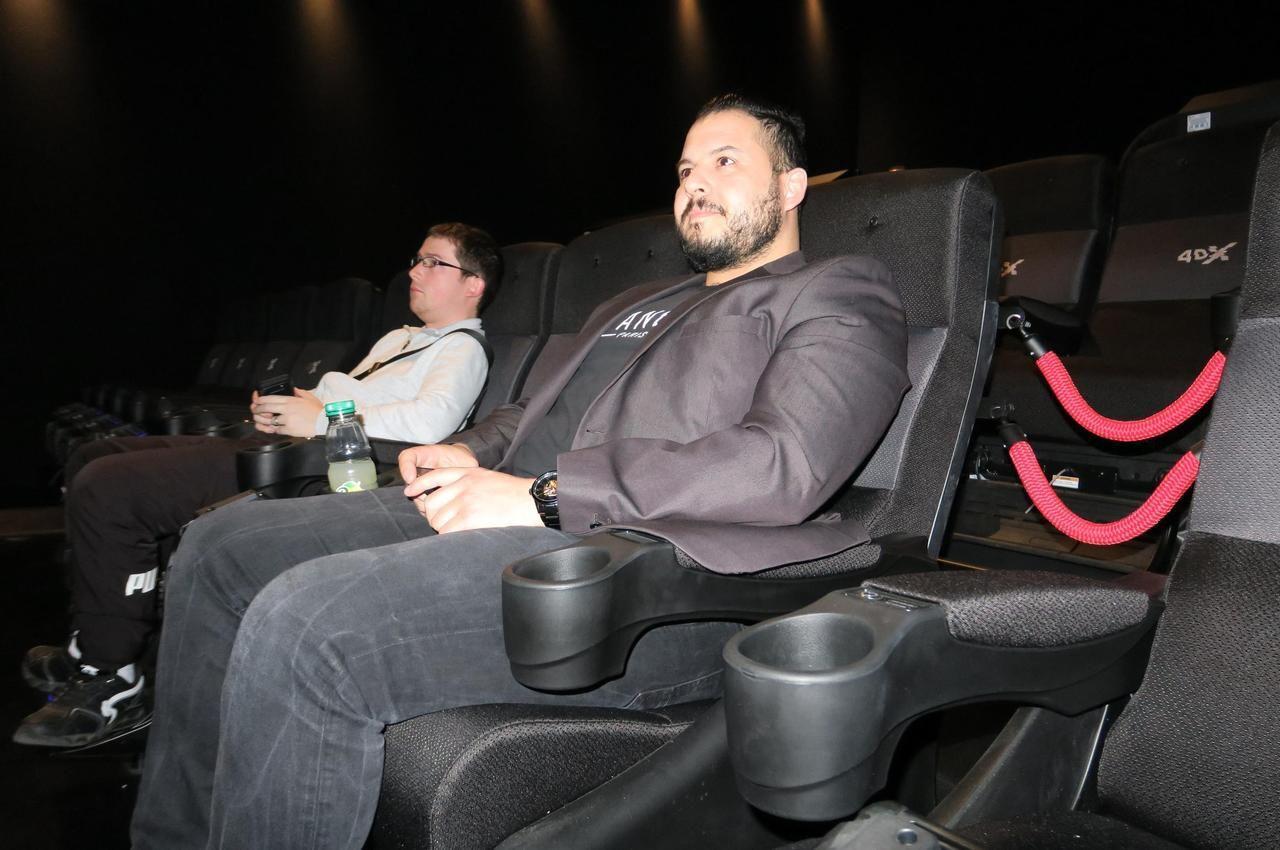 Lieusaint : en immersion dans la première salle de cinéma 8DX de