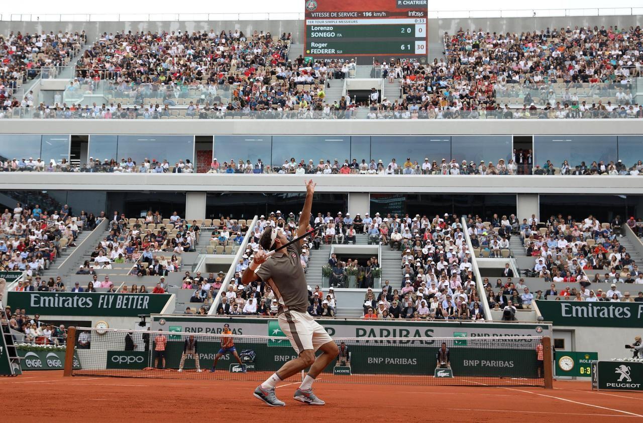 Roland Garros : «J'espère qu'on verra Federer sur le nouveau