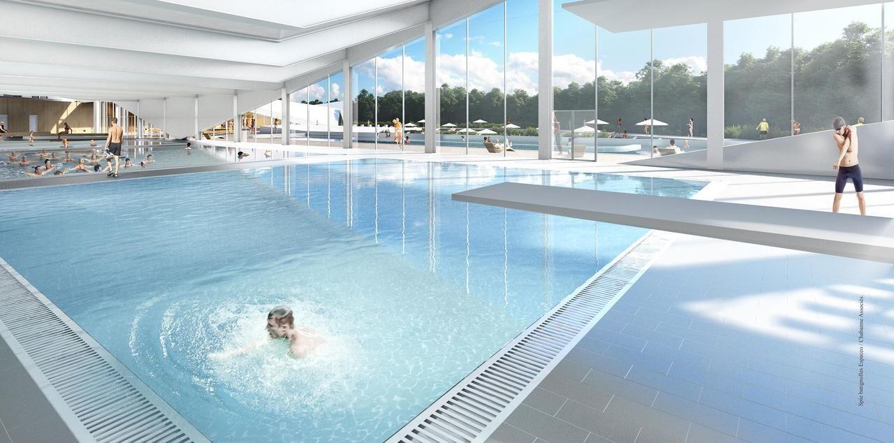aulnay : la future piscine labellis�e �jo� se d�voile - le