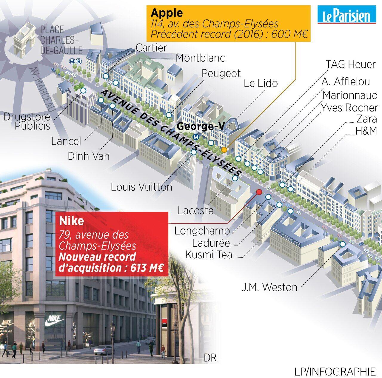 innovative design low price sale entire collection Groupama vend le 79, Champs-Elysées pour 613 millions d ...