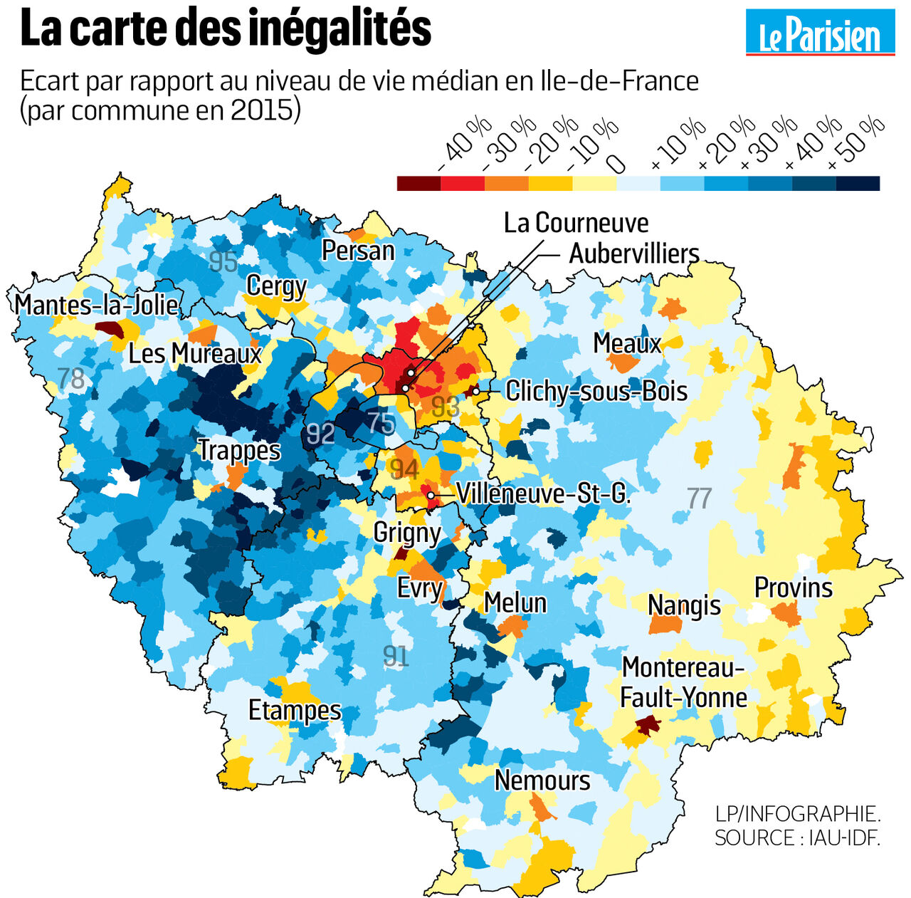 Les Inégalités Sociales Se Creusent En Ile De France Le