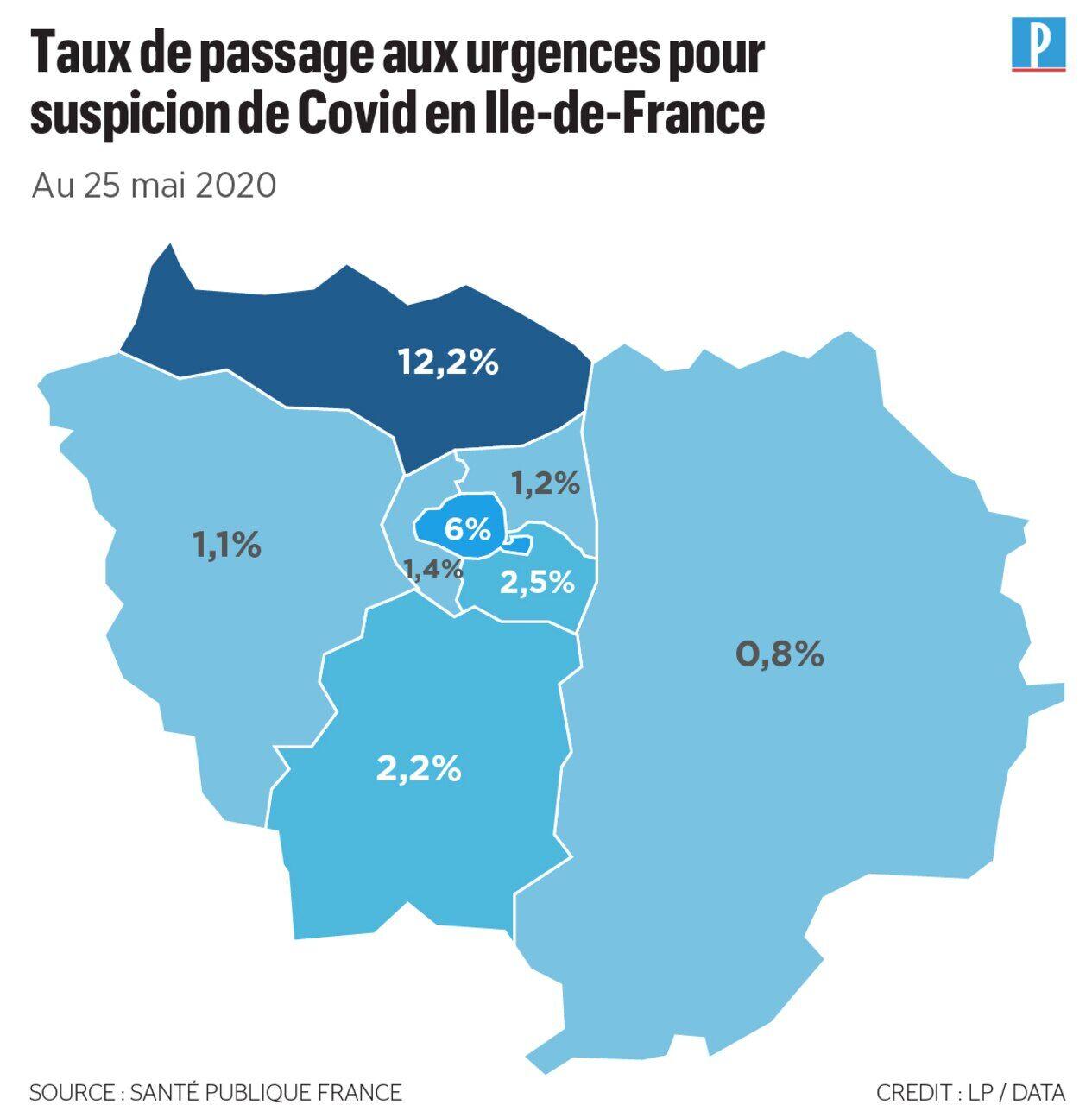 Carte Du Deconfinement L Ile De France Passera T Elle Enfin Au Vert Le Parisien