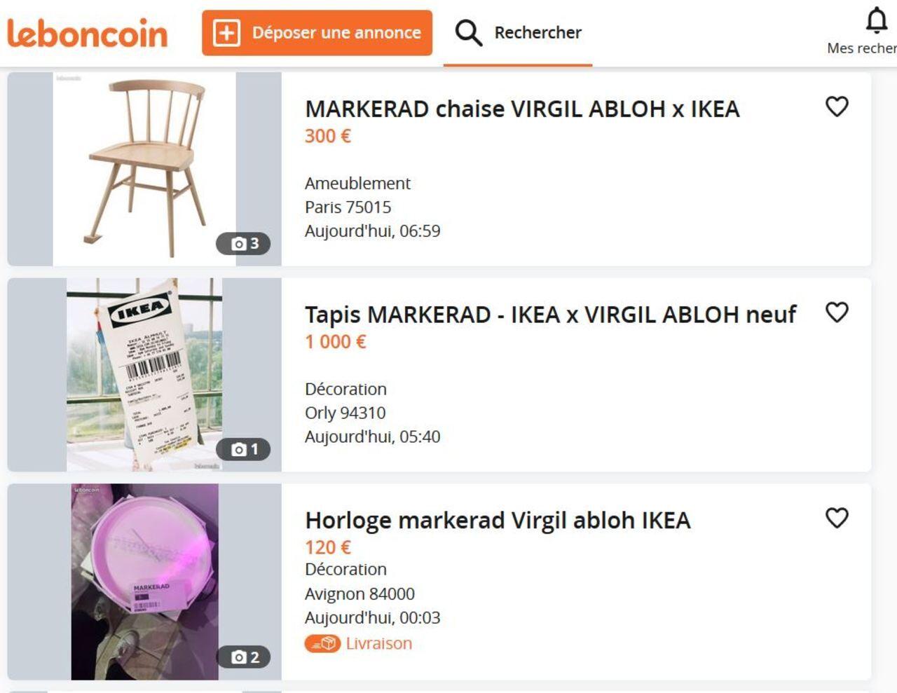 Collection Virgil Abloh chez Ikea : après la ruée dans les