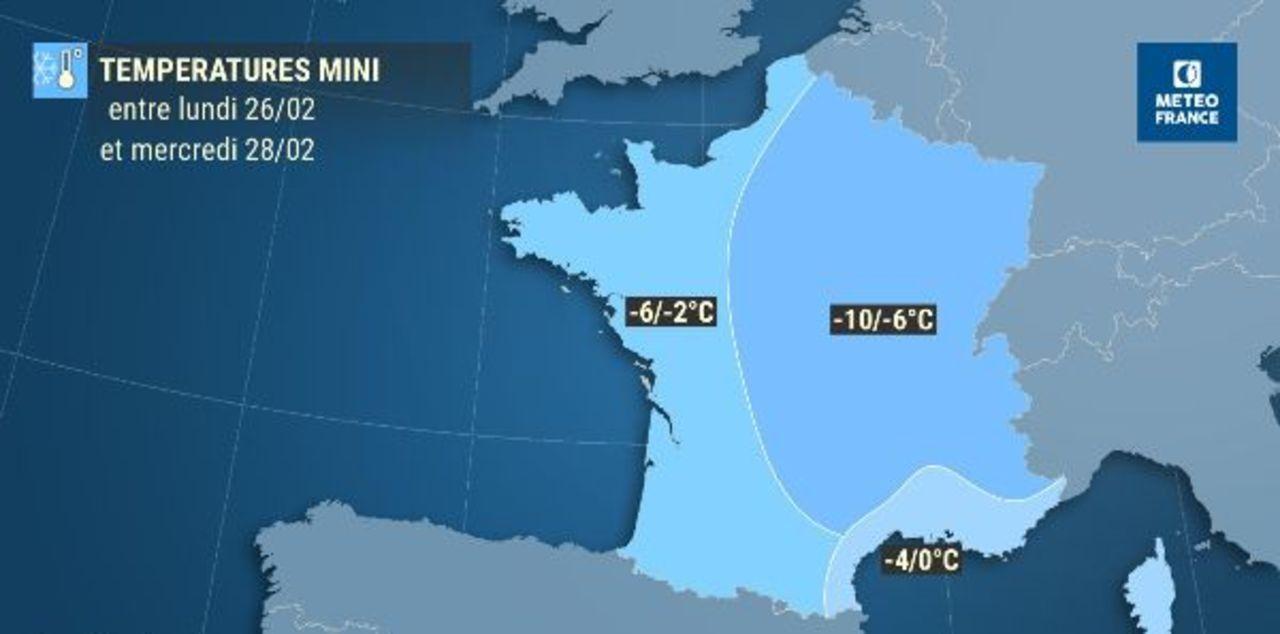 Vague de froid : le «Moscou Paris» s'installe à partir de