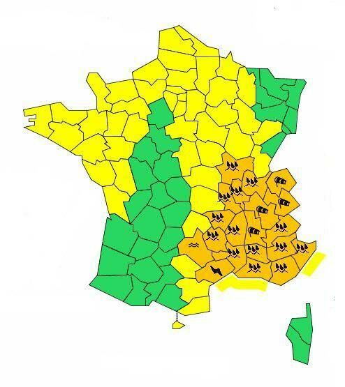 Météo 20 Départements En Vigilance Orange Les Prévisions