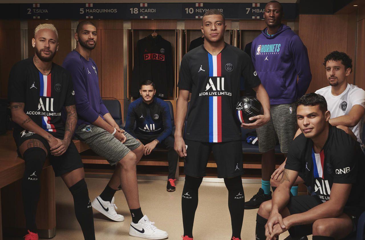 Le PSG dévoile son nouveau maillot Jordan Le Parisien