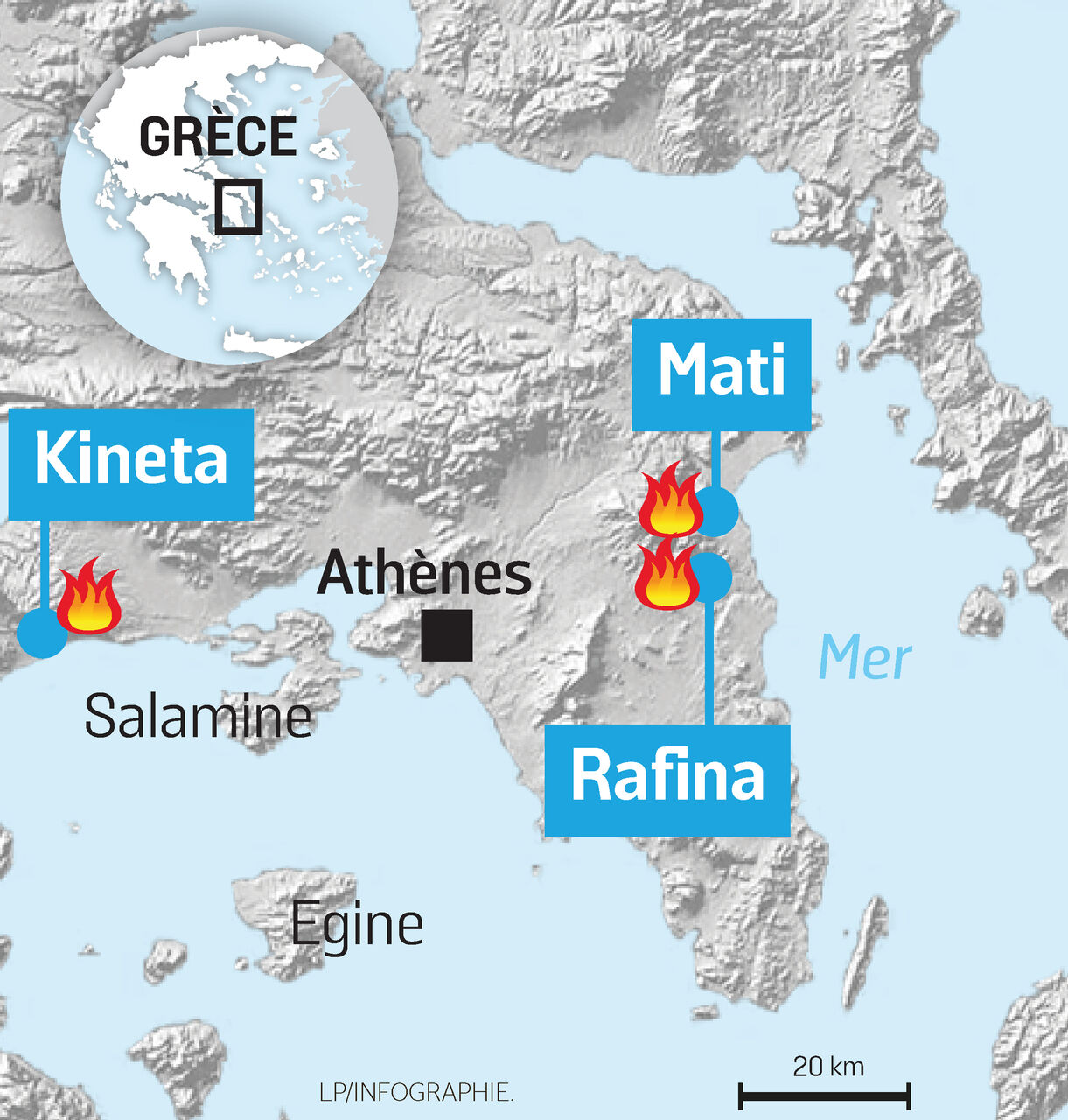 Pourquoi Les Incendies En Grèce Sont Si Meurtriers Le Parisien