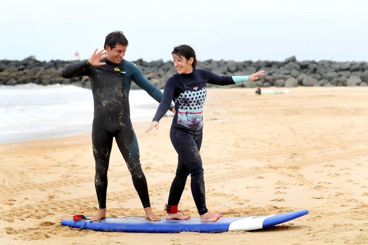 Ma Lecon De Surf Avec Jeremy Flores Le Parisien