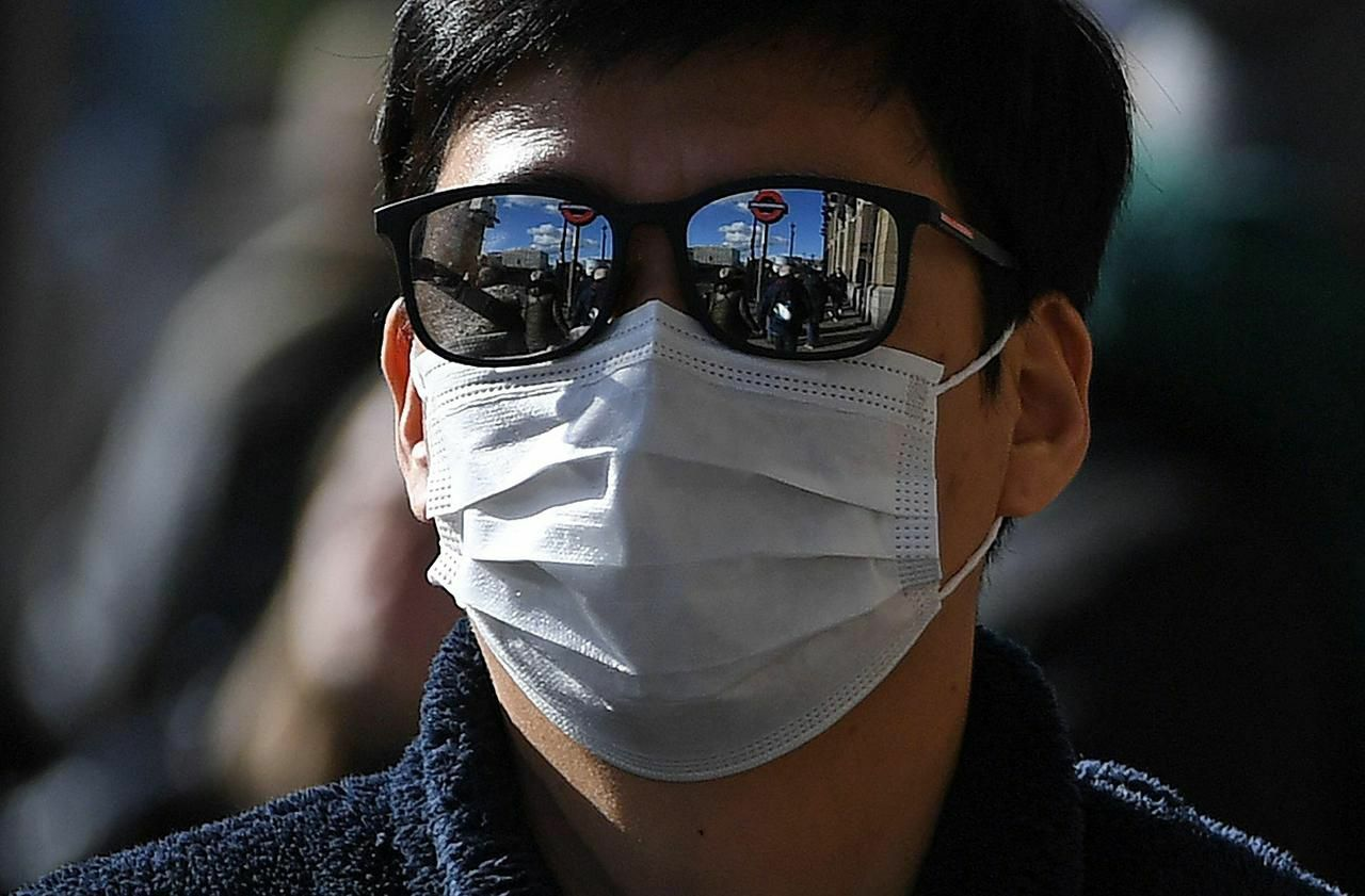 lot masque virus