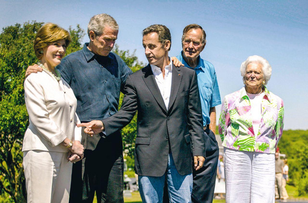 Les Vacances Des Presidents De La Ve Sarkozy Dans La Tourmente En 2007 Le Parisien