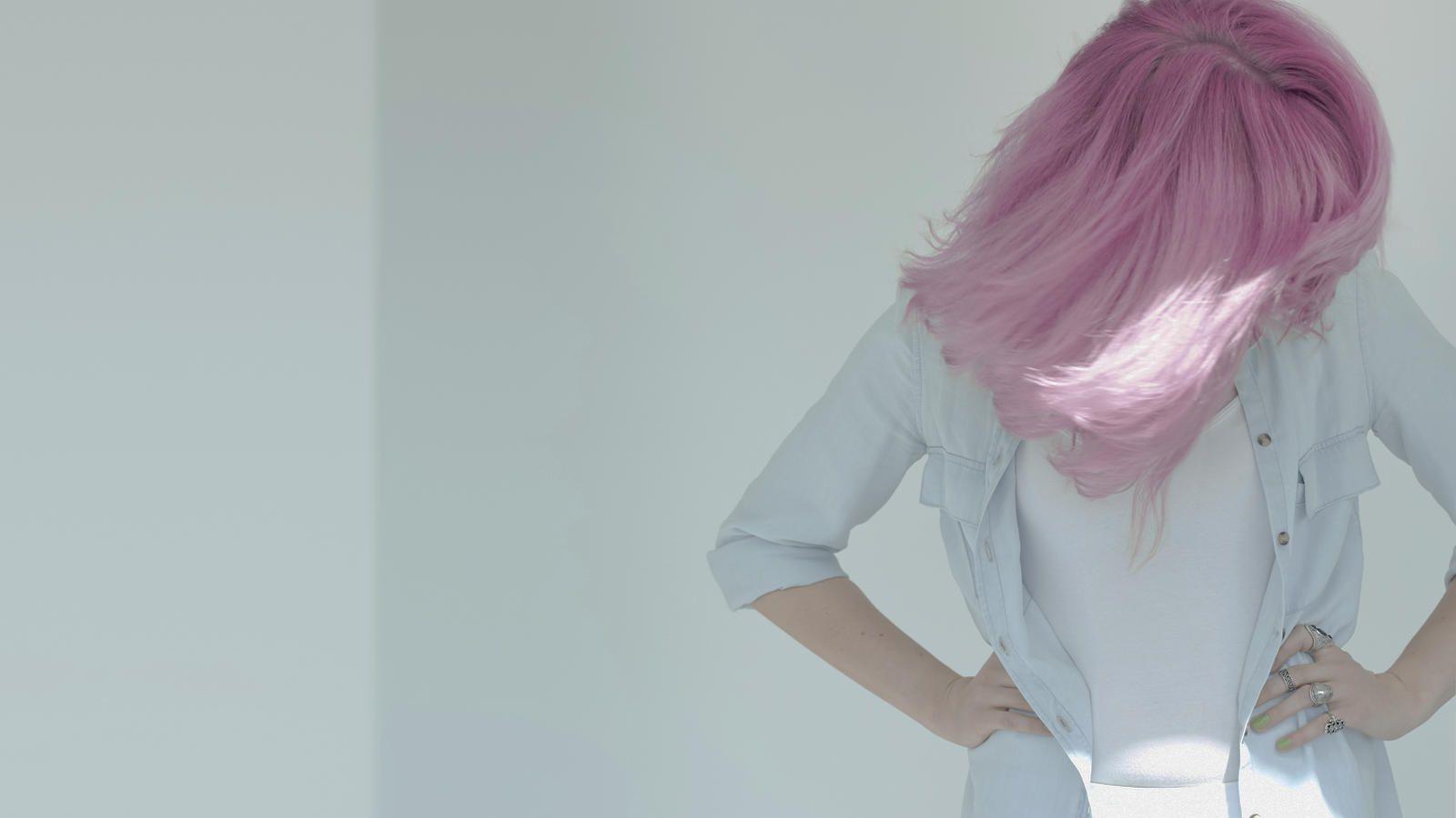 Rosa Haare Farben So Gelingt Der Angesagte Pastell Look