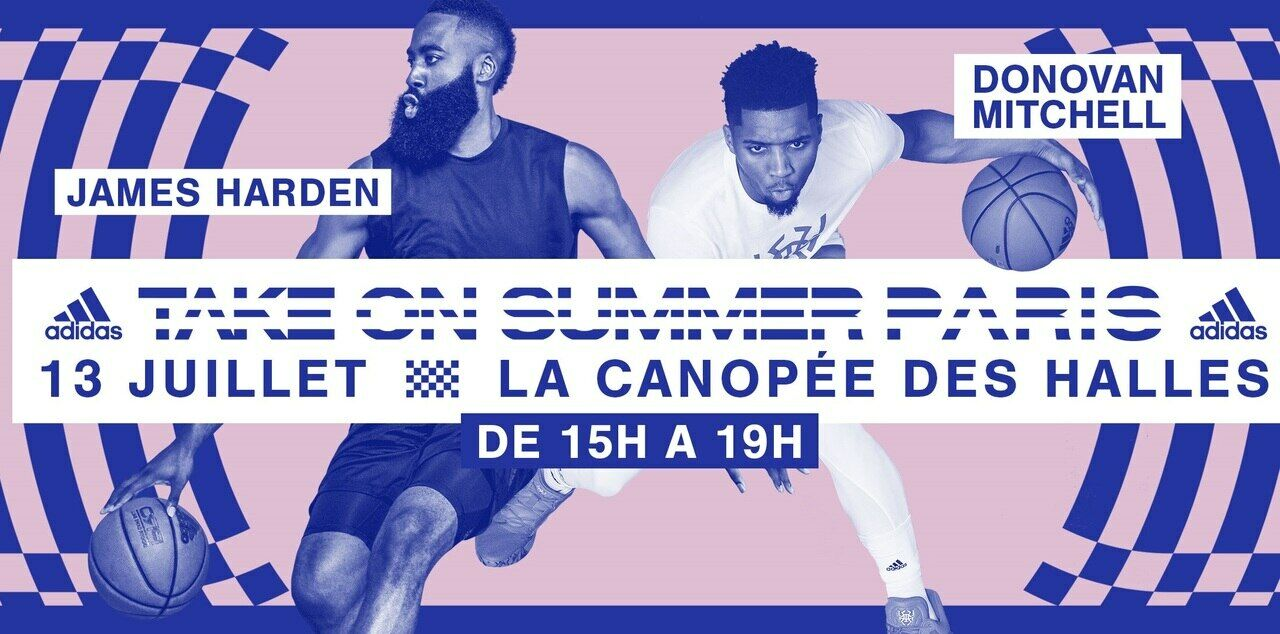 NBA : la star James Harden débarque à Paris Le Parisien