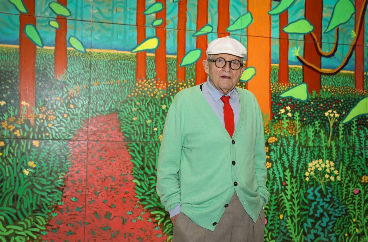 David Hockney Le Peintre Le Plus Cher Du Monde Emmenage En Normandie Le Parisien