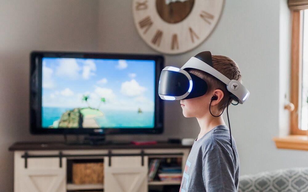 casque ps4 virtuel famille