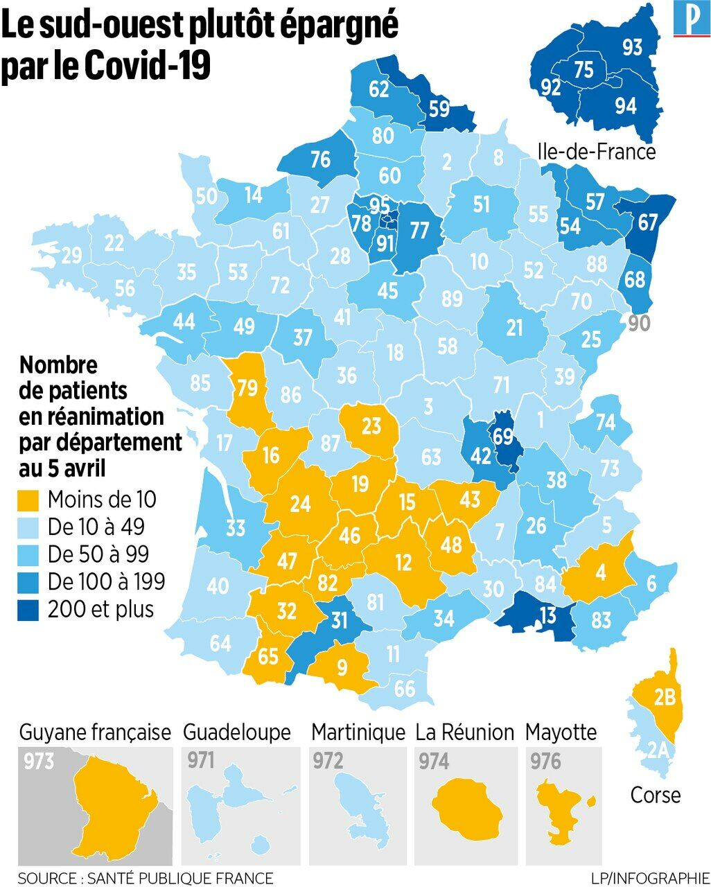 Coronavirus Les Departements Epargnes Le Resteront Ils Le Parisien