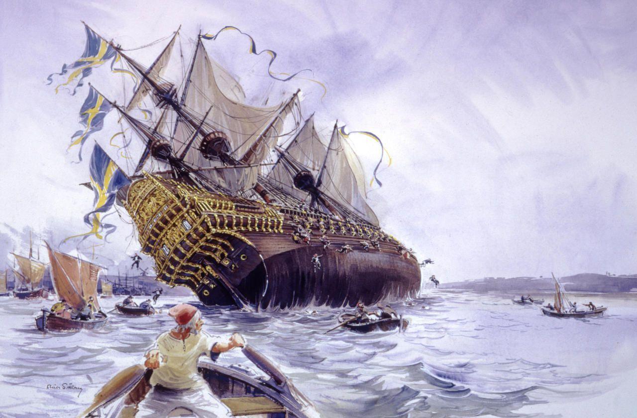 Le Jour Ou Le Vasa A Coule En 15 Min L Un Des Plus Grands Flops Maritimes De L Histoire Le Parisien